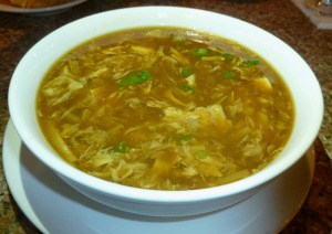 Hot and sour soup (Photo by Frank Sabatini Jr.)