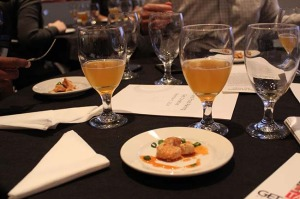 Craft beer and food pairing (Photo by Jeremy Ogul)
