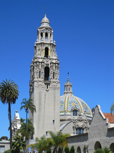 The California Tower in Balboa Park (Courtesy Museum of Man)