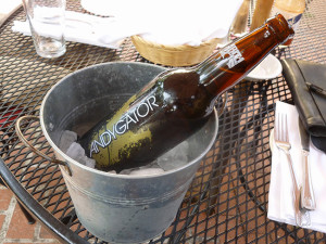 Andygator doppelbock beer (Photo by Frank Sabatini Jr.)