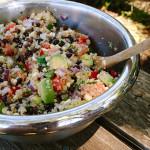 Nutrition Matters: Quinoa, Black Bean and Avocado Salad