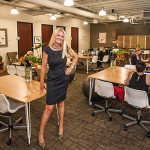 Women leave home offices to work in shared Mission Valley space
