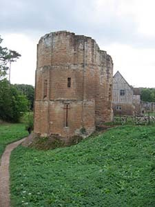 The authors visited medieval ruins like this one in England while researching the book. (Photo by Deborah Reed)