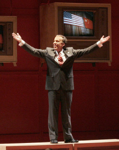 "Nixon on ""stage"" in China (Photos by Ken Howard/Opera Theatre of St. Louis)"