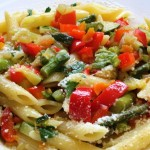 Nutrition matters: Whole Wheat Garlic Pasta with Vegetables