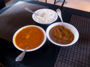 Rogan josh, basmati rice and lamb curry (Photo by Frank Sabatini Jr.)
