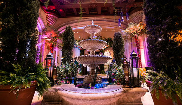 The rotunda of the San Diego Museum of Art Alive is transformed for the annual Art Alive event. (Courtesy SDMA)