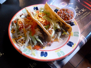 Ground beef tacos (Photo by Frank Sabatini Jr.)