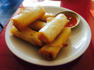 Crispy egg rolls (Photo by Frank Sabatini Jr.)