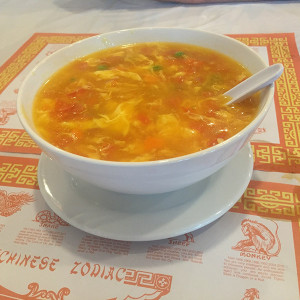 Egg drop soup (Photo by Frank Sabatini Jr.)
