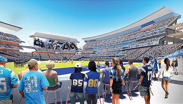Endzone Suites (Courtesy of sandiego.gov)