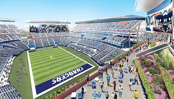 Endzone Terrace (Courtesy of sandiego.gov)