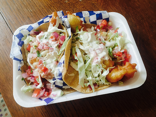 Fish tacos (Photo by Frank Sabatini Jr.)