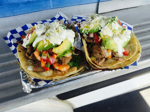 Kiko's surf and turf tacos (Photo by Frank Sabatini Jr.)