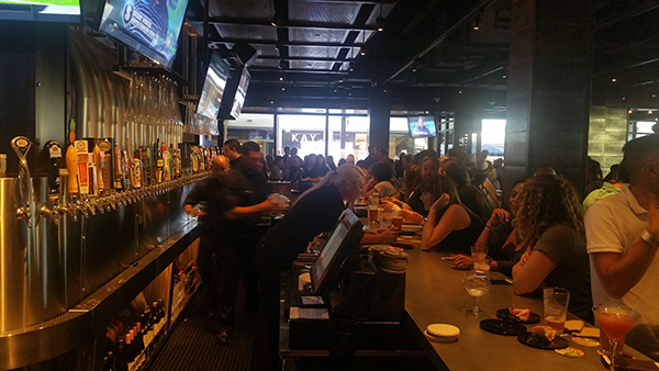 Hundreds of guest attended the media opening of Yard House in Mission Valley. (Photos by Ken Williams)