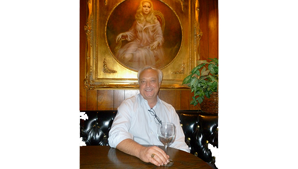 Ted Samouris hopes to move Albie's Beef Inn and its nude paintings to a new location. (Photo by Frank Sabatini Jr.)