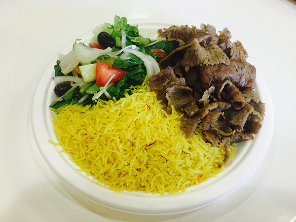 Lamb and beef plate