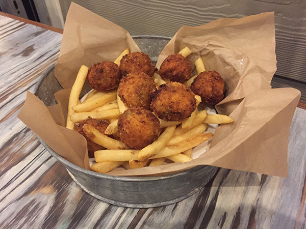 """Great balls of fire"" over fries"