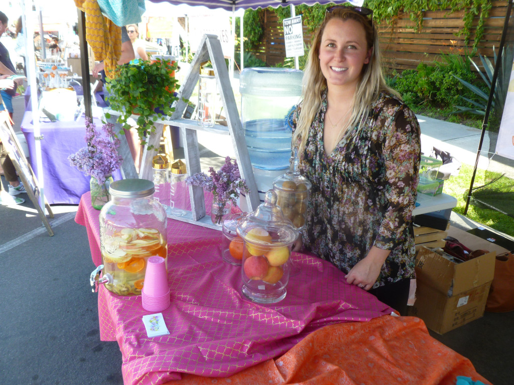 Ashleigh Dinan of Wild Water is a new vendor at North Park Thursday Market. (Photo by Frank Sabatini Jr.)