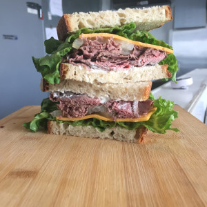 Meaty sandwiches have entered into the equation since Heart and Trotter Whole Animal Butchery opened a year ago. (Courtesy of Assault Media Marketing)