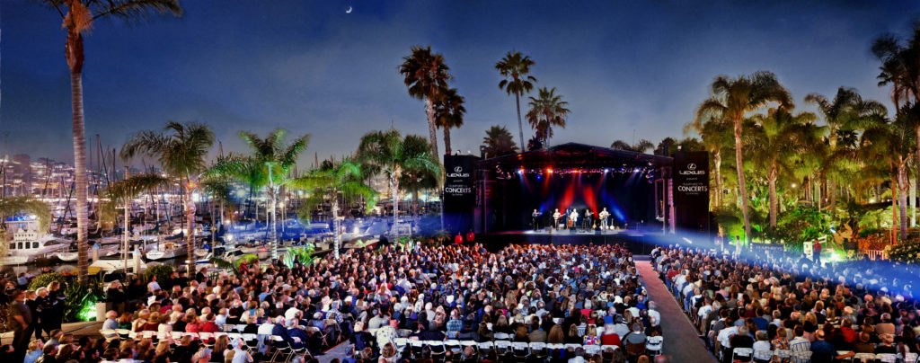 The outdoor venue on the water offers big names but remains intimate. (Courtesy Humphreys By the Bay)