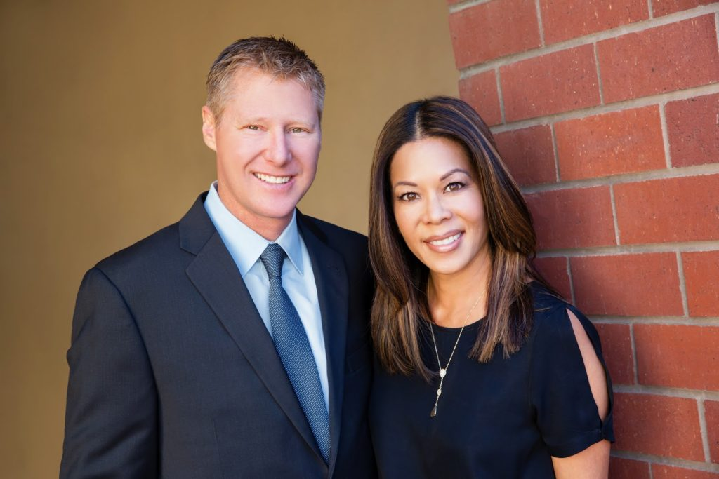 Drs. Scott and Leslie Strommer (Photo courtesy of New Image Dental)
