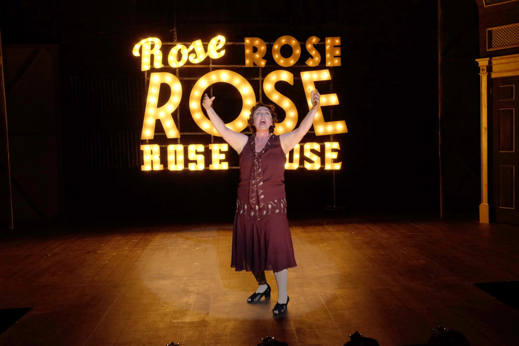Linda Libby as Rose, the character based on the memoirs of Gypsy Rose Lee. (Photo by Ken Jaques)