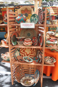 Anomaly Imports woven baskets display