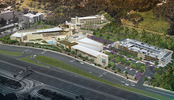 The new design for the Cerullo Legacy International Center (Courtesy of Carrier Johnson + Culture)