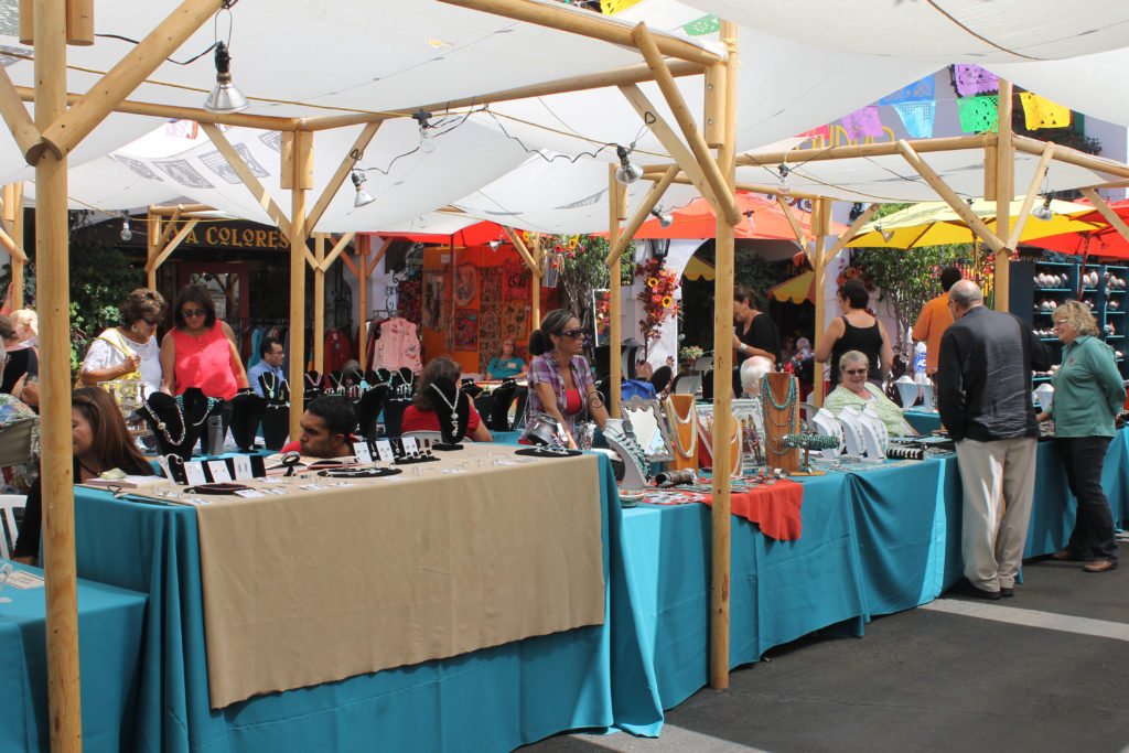 The Santa Fe Marketplace will feature vendors with a bent toward Native American arts and crafts. (Courtesy of Bazaar del Mundo)