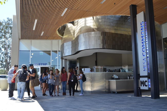 The new Mesa Commons building at Mesa College serves as a gateway to the campus. (Courtesy of Mesa College)