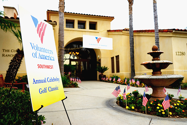 The Volunteers of America Southwest holds an annual celebrity golf tournament that is one of the group's largest fundraisers. (Courtesy of VOASW)