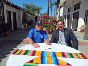 (l to r) Randy Jones and Fred Grand (Courtesy of Pacific Hospitality Group)