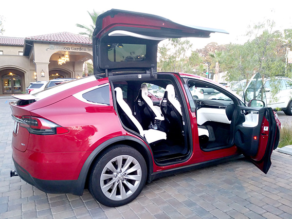 Taking A Loop In A Tesla Mission Valley News Mission Valley News - A tesla