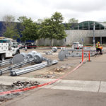 Library solar project underway