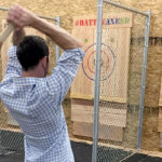 Axe throwing biz opens in Grantville location