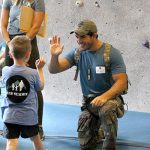 Navy SEAL on a mission for pediatric cancer patients